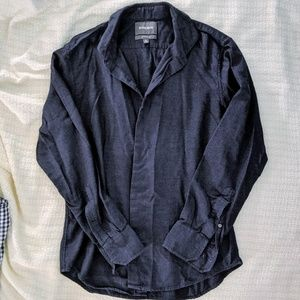 Blue Bonobos slimfit casual button up shirt